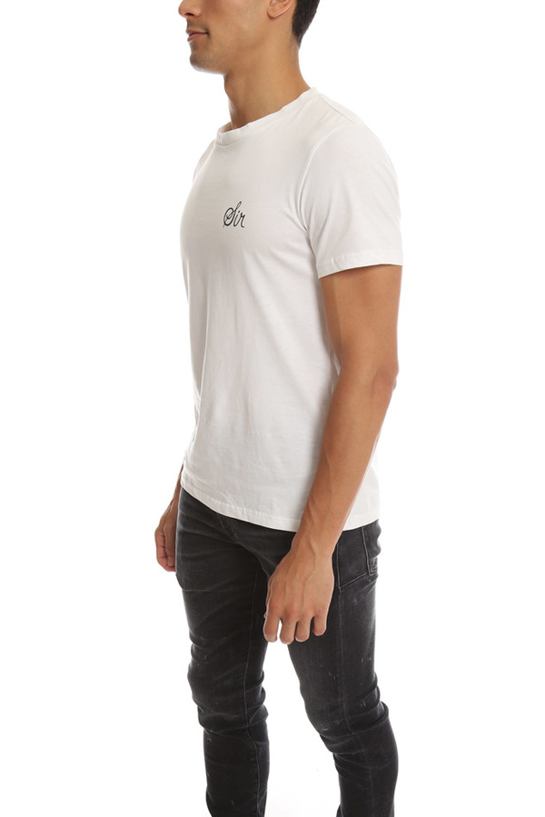 Neal Sperling SS Sir Tee - White