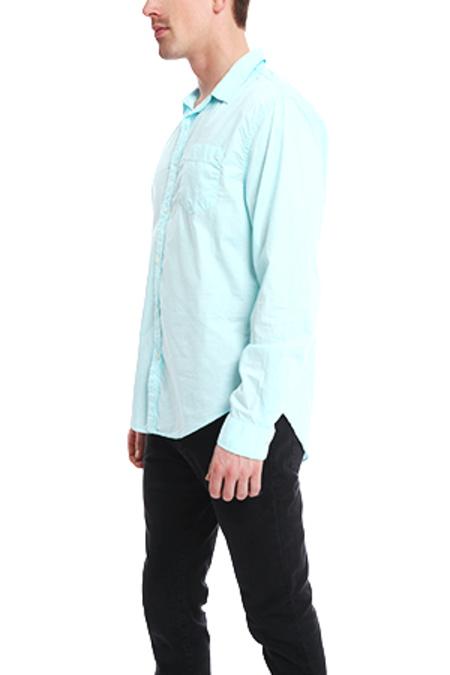 JACHS Paris Poplin Shirt - Teal