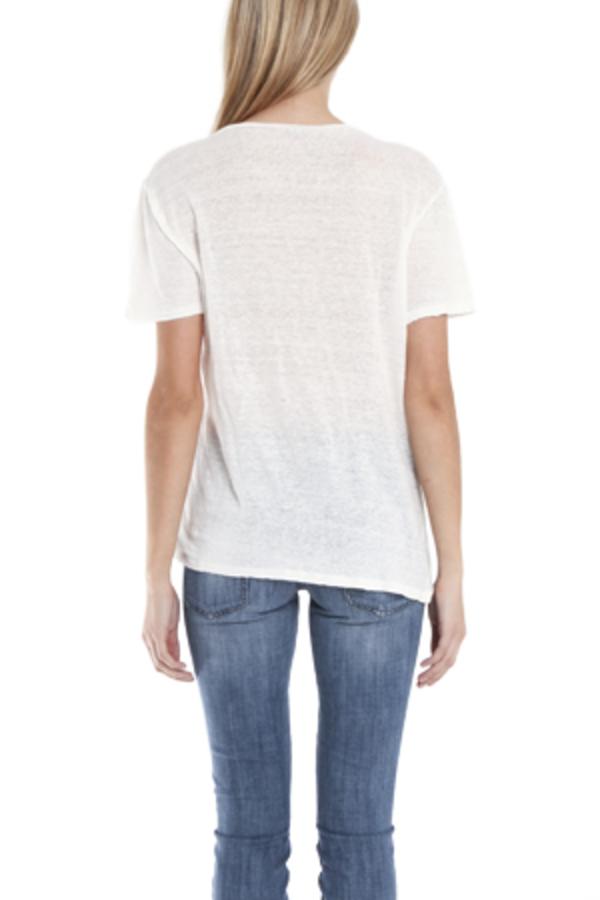 IRO Lawrence Printed T-Shirt - White
