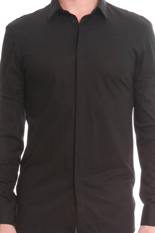 Helmut Lang Spring Pique Shirt - Black