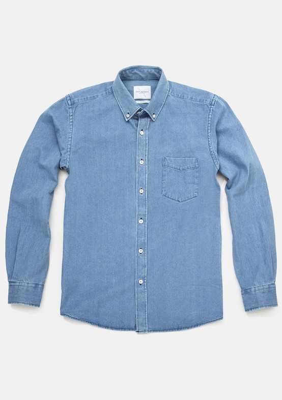 Men's SATURDAYS SURF NYC - Crosby Denim Shirt