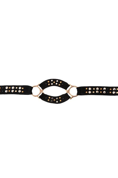 Bec & Bridge Studded Belt - Black
