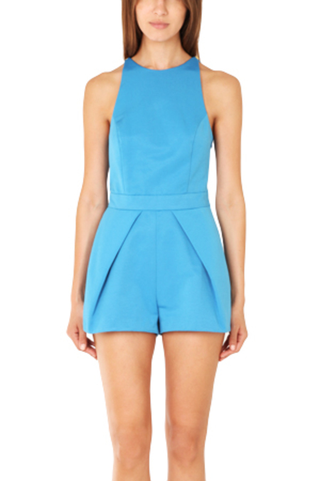 Camilla and Marc Nuance Romper - Azure