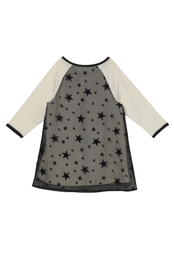 Kids Oaks of Acorn Starry Night Club Dress - White