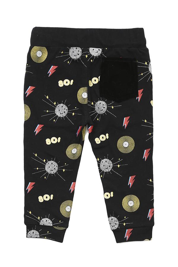 Kids Oaks of Acorn Disco Party Sweatpants - Black/Multi