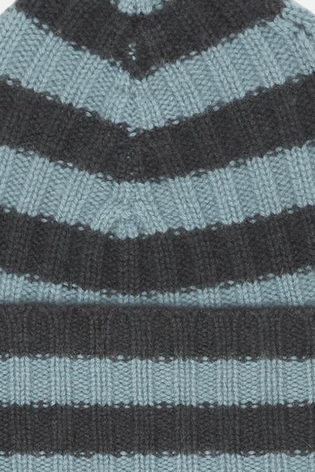 Warm-ME Eric Stripe Hat - Teal/Navy