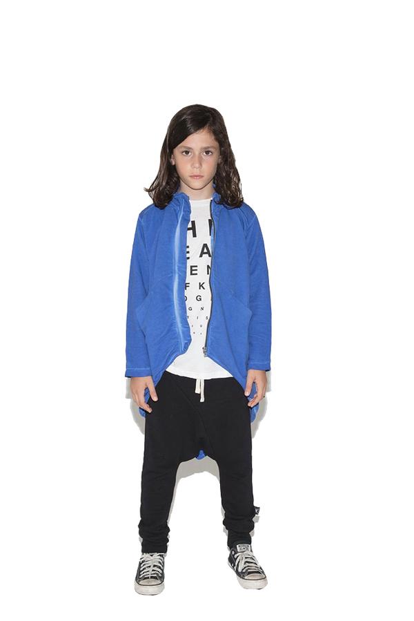 Kids Nununu Tail Jacket - Blue