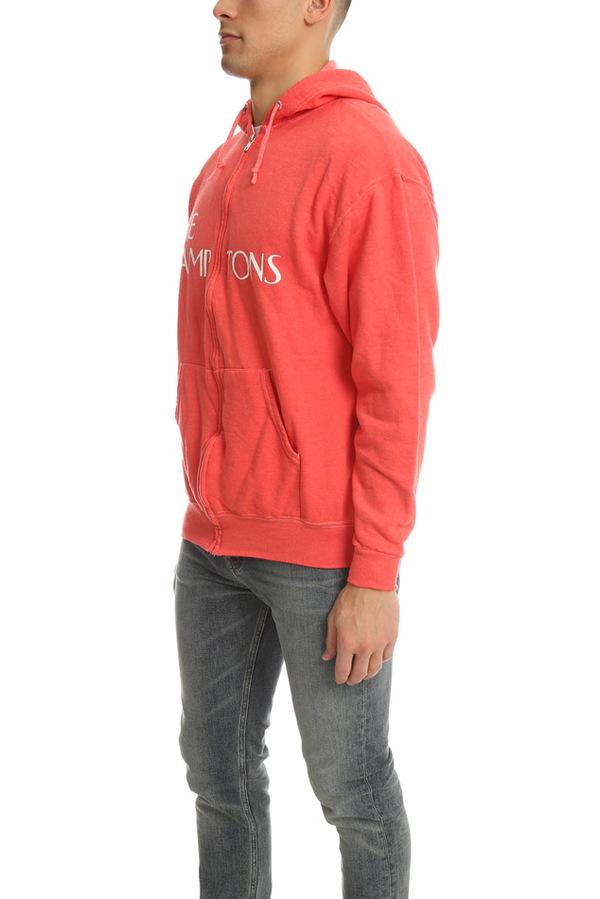 Blue&Cream Lamptons Hoodie Sweater - Red/White