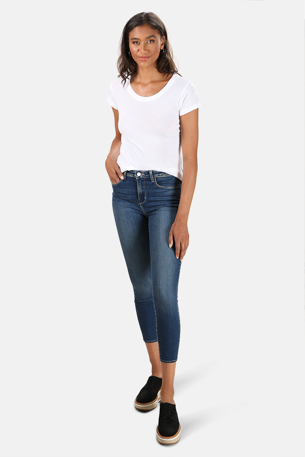 L'Agence Margot High Rise Skinny Jeans - Monterey