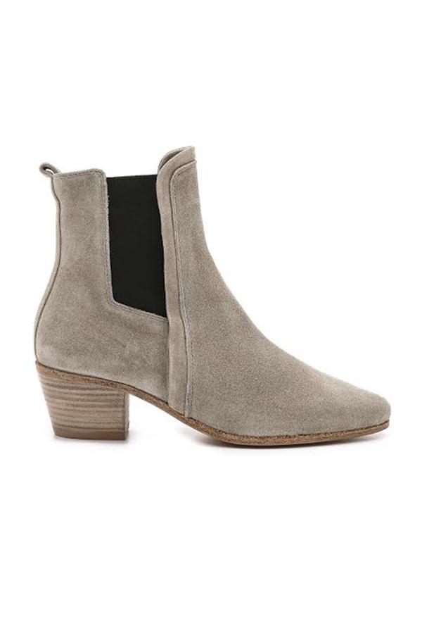 IRO Kate Boot Shoes - Beige Grey