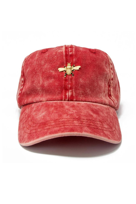 Barth NY Denim Cap - Red