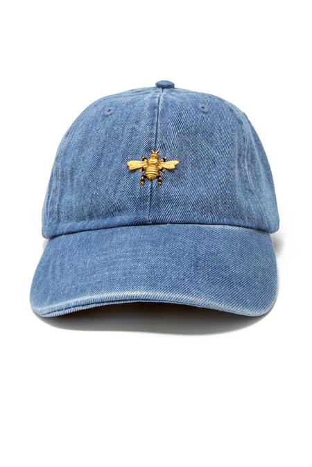 Barth NY Denim Cap - Light Indigo