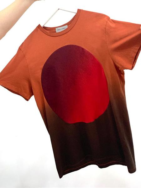 Unisex Correll Correll Sun and Moon T-Shirt - Brick