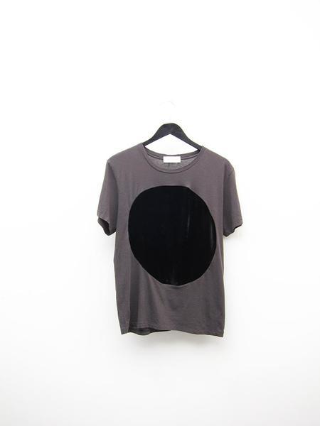 Unisex Correll Correll Velvet Circle T-Shirt - Charcoal