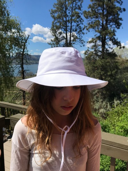 Clyde Fisherman Hat - White