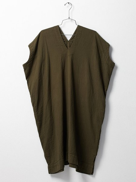 Atelier Delphine Crescent Dress - Hunter Green