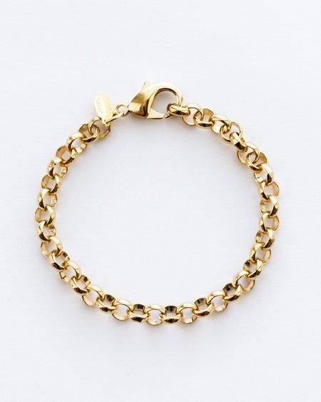Jennifer Tuton Bubble Links Bracelet - Gold