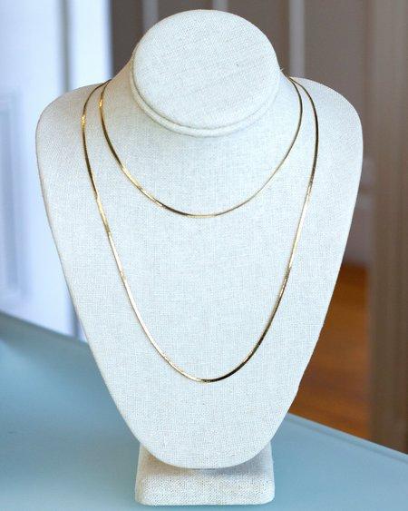 Jennifer Tuton Liquid Gold Necklace