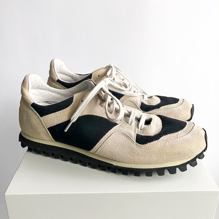 [Pre-loved] Spalwart X CDG Suede Trainers - Taupe/Black