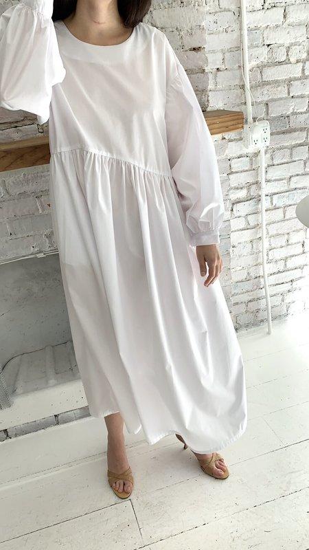 TIGRE ET TIGRE JAMIE DRESS - WHITE