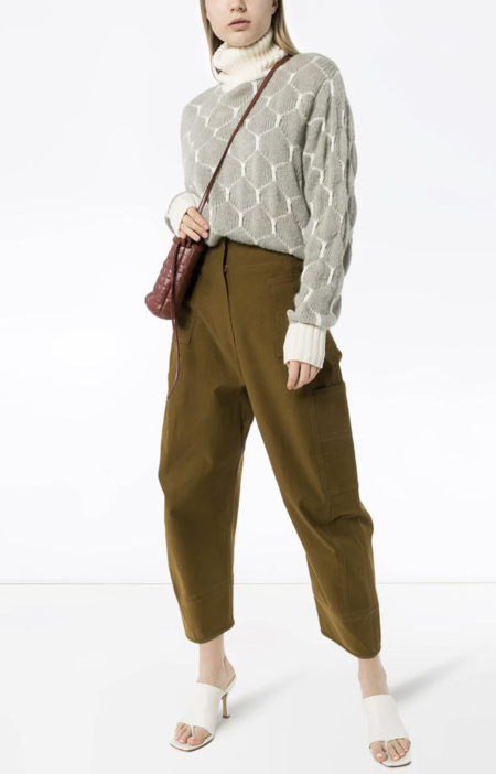 LVIR Round Fit Pants - Deep Khaki Brown