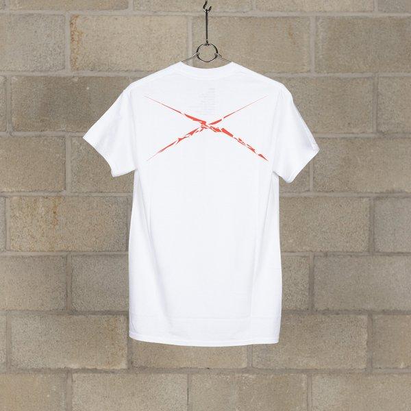 NEXUSVII. 3 Flags With Akira T-Shirt - White/Red