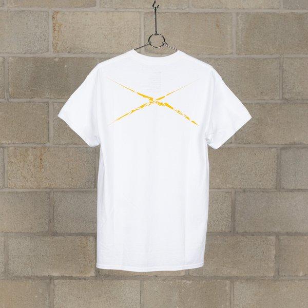 NEXUSVII. Listen To The Fugees T-Shirt - White/Yellow