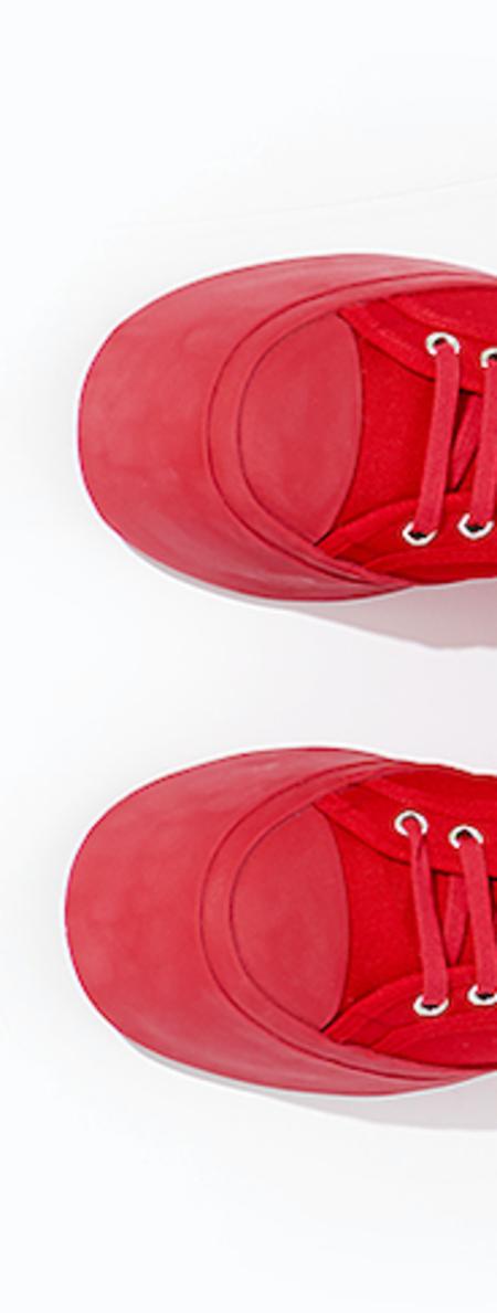 Marni Canvas Sneaker - Red