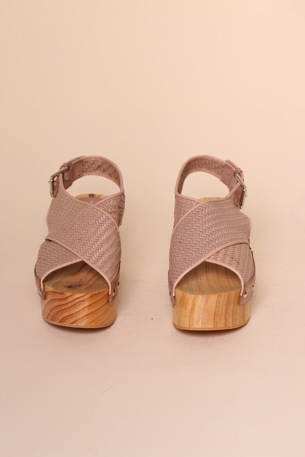 """""""INTENTIONALLY __________."""" Talk Clog - Sable Woven"""