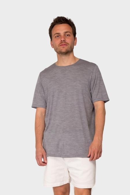 Arc'teryx Veilance Frame Merino Shortsleeve Shirt - Ash Heather