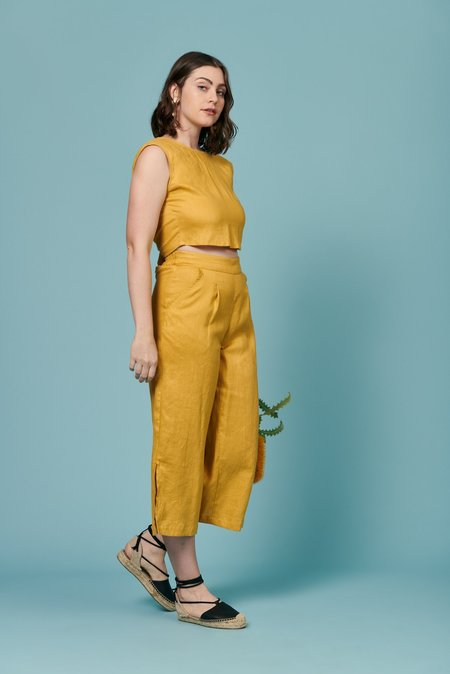 Whimsy + Row Valentina Pants - Topaz