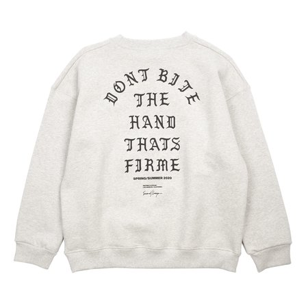 Second/layer Firme Crew Pullover - Melanage Grey