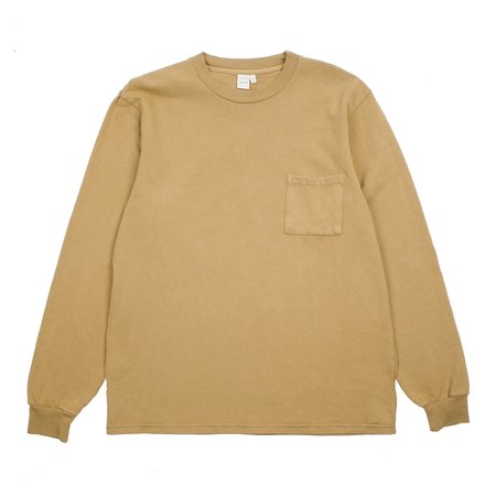 Paa Long Sleeve Pocket Tee - Kraft