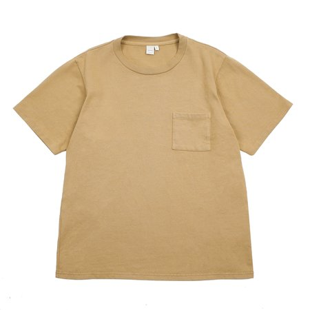 Paa Short Sleeve Pocket Tee - Kraft