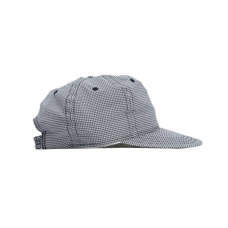 Paa Stretch Floppy Ball Cap - Black Seersucker