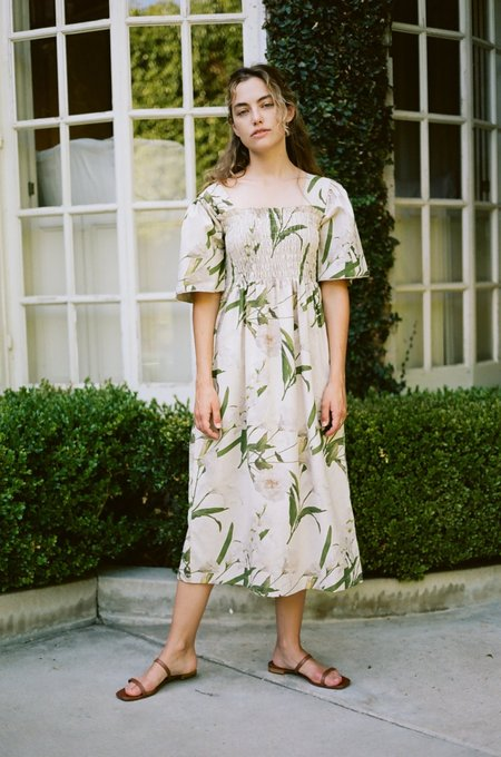 Lisa Says Gah Toni Midi Dress - Floral