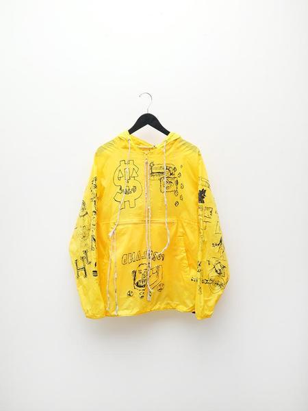Stacy House 18'-19' Windbreaker - Yellow