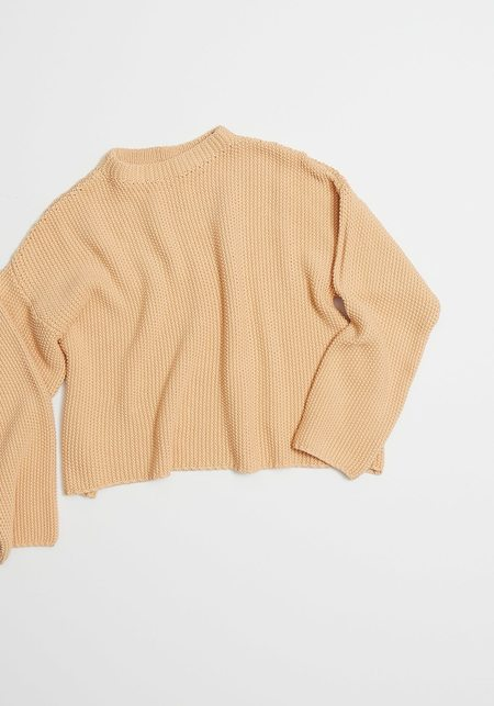 Micaela Greg Seed Sweater - Peach