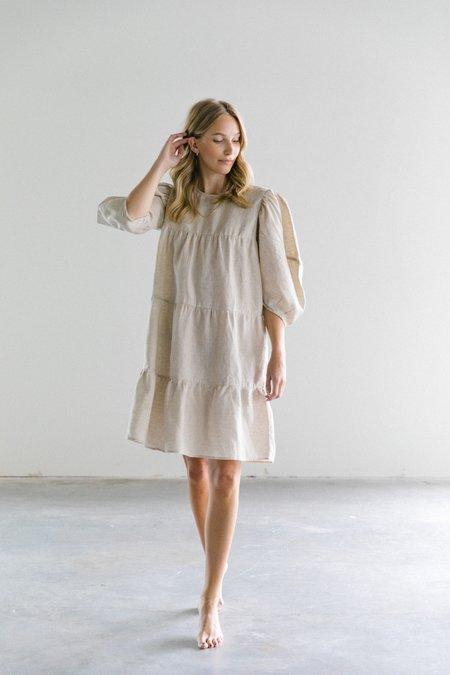 Lanhtropy Amber Linen Dress