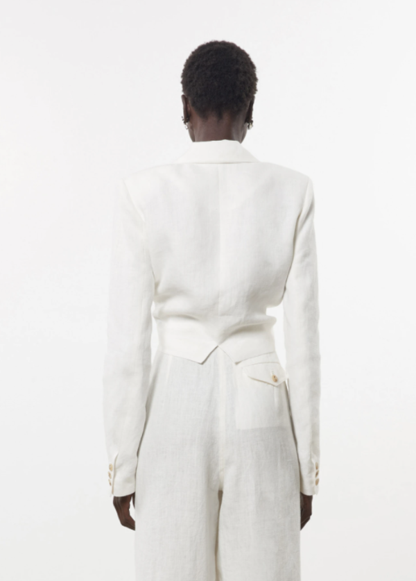 Mara Hoffman Catalina Jacket - White