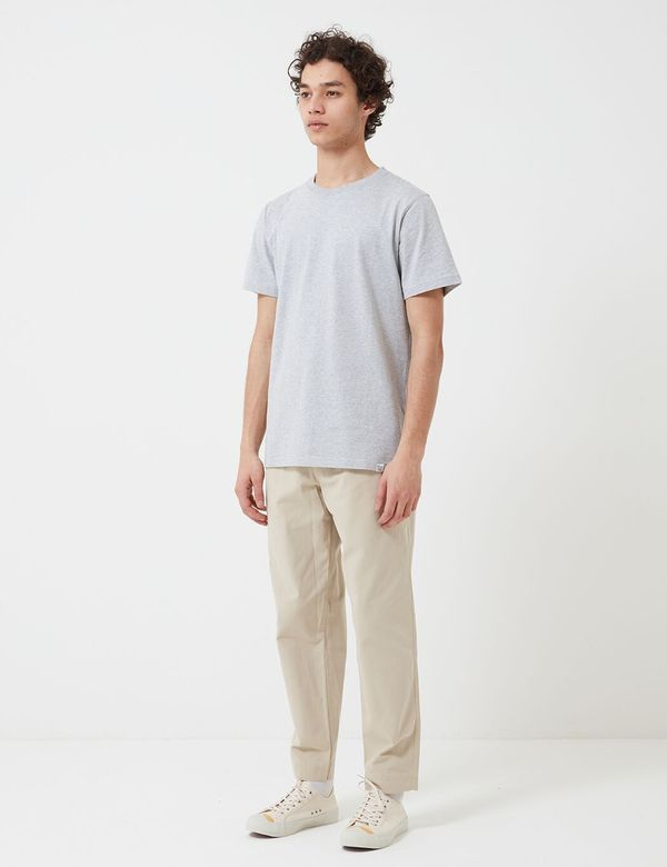 Folk Clothing Drawcord Assembly Trousers - Stone