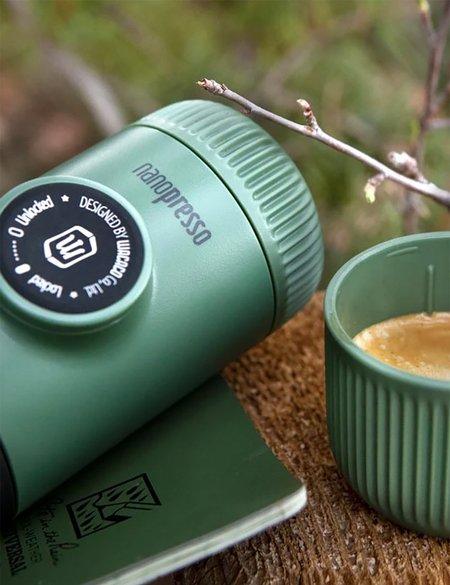 Wacaco Nanopresso Espresso Machine & Carrying Bag - Green