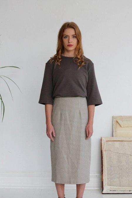 Rita Row Basic Sweatshirt - Ash