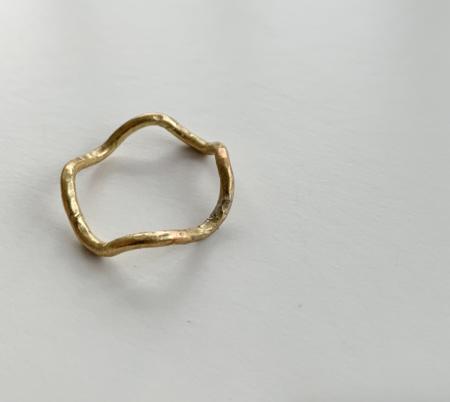 Mahnal Kundalini Ring - Brass