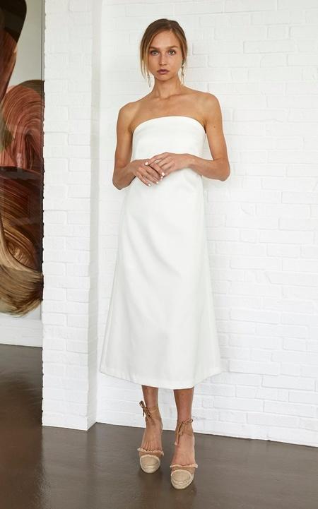 White Story Isia Dress - Ivory