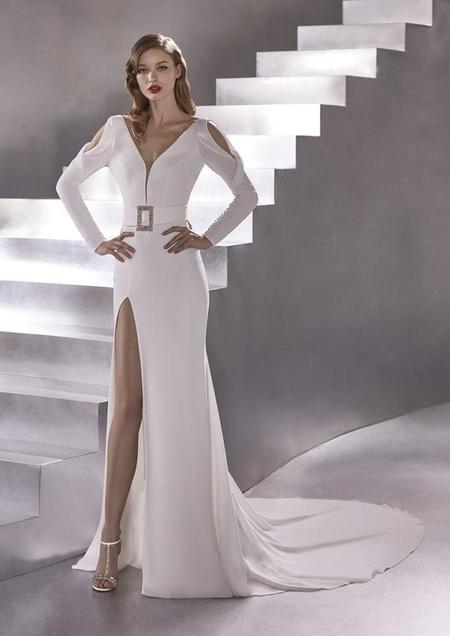 Atelier Pronovias Rocket Dress - White
