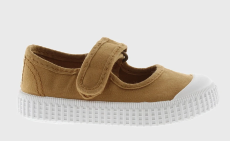Kids Victoria Mary Jane Shoes - Oro/Gold
