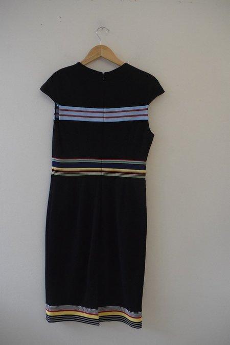 [Pre-loved] Diane von Furstenberg Mini Dress - Black/Multi