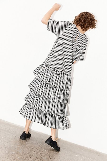 Milk & Thistle Ivy Dress - Gingham (DELIVERY 22nd June)