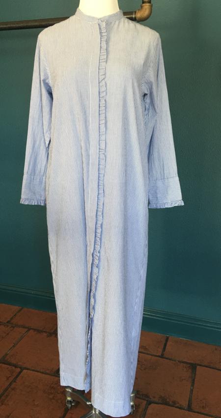 Ne Quittez Pas Stripe Frill Dress - Stripe